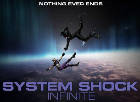 System Shock Infinite: Poster with text by SoliDeus