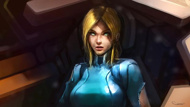 Samus by DarrenGeers