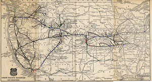 Union Pacific map plan by mrbill6ishere