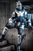 Garrus Vakarian Costume by FredProps