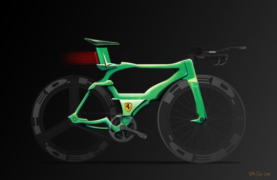 Ferrari Concept Bike (recolor) by all-one-line