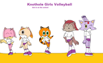 Knothole Girls Volleyball by mewmewspike