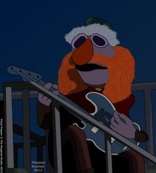 Floyd Pepper - Guitar Gently Weeps by TomFraggle