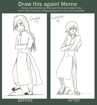 Draw Again Meme by chuchie7