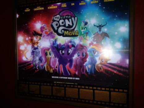 My Little Pony the Movie poster by JustSomePainter11