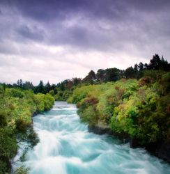 Huka Falls by aaron-r-photography