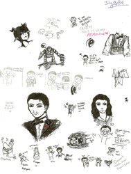 BioShock Doodle Spam by Yume-Inc