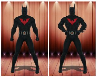 [MMD] BACL Batman Beyond by arisumatio