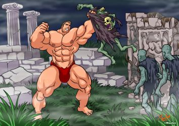 Altered Beast classics by mauleo