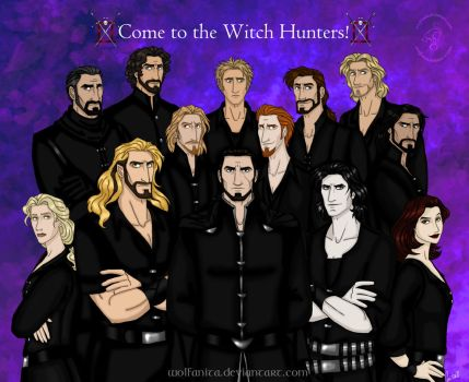 Come to the Witch Hunters! by wolfanita