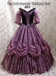 The purple Gown #1 by Stahlrose