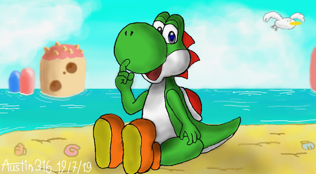 Yoshi's here to heal the pain by austin316hellyeah