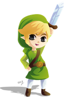chibi Link by Lady-of-Link
