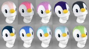 Penguin Hats by SewDesuNe