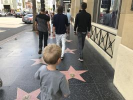 Jesse in Hollywood 2017-09-22 by symonx