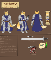 Rarion (2018 Reference Sheet) by FanDragonBrigitha