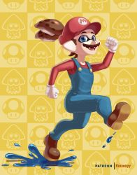 Mario Inkling by Comadreja