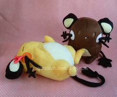 Pokemon: Shiny and Normal Dedenne Pair