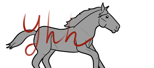 Animated YHH - Draft Horse by AppaArt