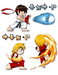 Street Fighter Tribute by rongs1234