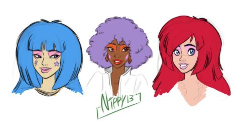 REanimate Jem and the Holograms by Nippy13