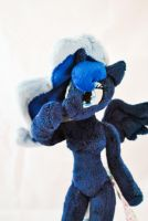 Plush anthro pony Princess Luna by KetikaCraft
