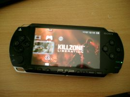 my Sony PSP by 3xhumed
