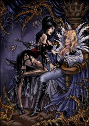 Jareth and Elvira by Candra