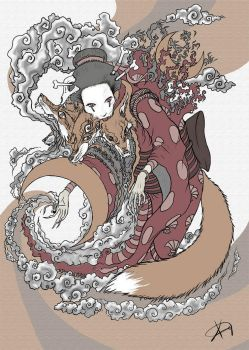 Kitsune by Koggg