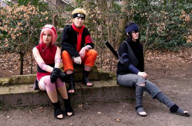 Team 7 hanging out - Somethings never change... by Naroe
