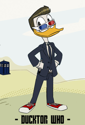 Ducktor Who - 10th Duckor by JStCPatrick
