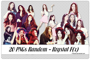 PACK 20 Pngs Random Krystal (1) by FishBubi
