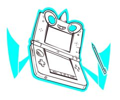 Sketches - Rotom 3DS