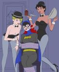 Batgirl Captured By Jay And Lark [flat Colors] by sleepy-comics