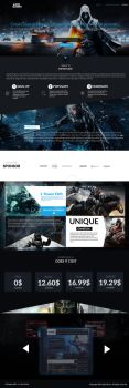 eSport Gaming Website by neroxtm