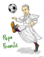 Papa Pancholin - Pope Francis by MCS1992