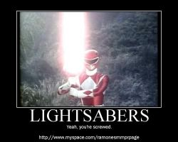 Lightsabers by RazorRed