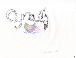 AngelCynder new Signature by AngelCnderDream14