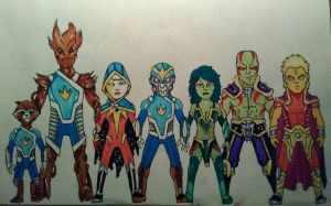 Guardians of the Galaxy (MCEU) by KingCozy7