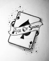 Ace Of Spades by GrotesqueDarling13