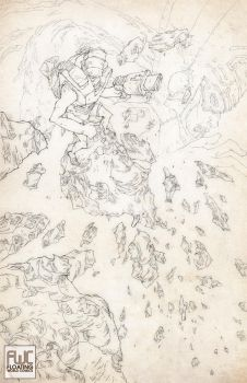 ROM tribute pencil by toniinfante