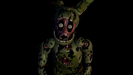 Springtrap Stare by KiwiGamer450