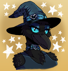 Saphora the Raven (Commission) by TheGutterBunny