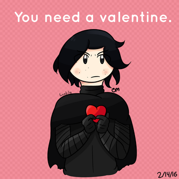 You need a valentine. by Link-Pikachu