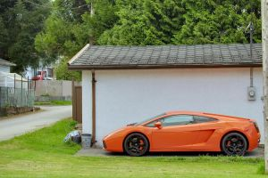 Orange Lamborghini by SeanTheCarSpotter