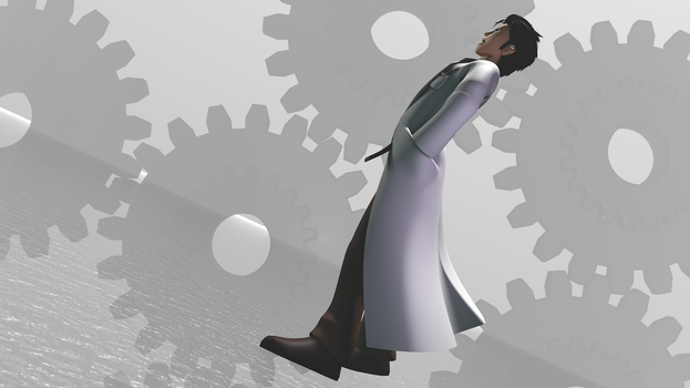 Gates of Steiner (Okabe 3D Model) by TheRPGPlayer