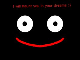 Mr popo will haunt you now :) by liziscold