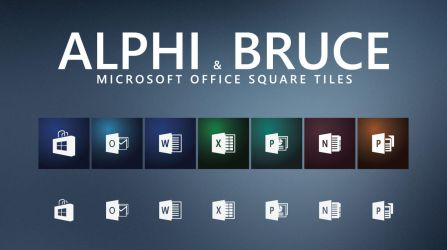 AlphiBruce Office-icons by Ecstrap