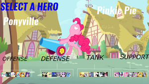 Ponywatch Hero Select by LordThunder86