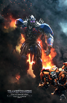 Transformers: The Last Knight Poster (FAN MADE) by TLDesignn